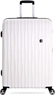 "SWISSGEAR 7272 27"" Energie Hardside Polycarbonate Spinner Luggage - White"