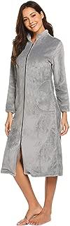 Best womens zip up bathrobe Reviews
