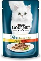 Purina Gourmet 12172776 Mokra Karma dla Kotów z Kurczakiem i Wołowiną, 24 x 85 g