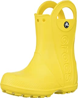 Crocs Handle It Rain Boot K, Stivali di Gomma Unisex-Bambini