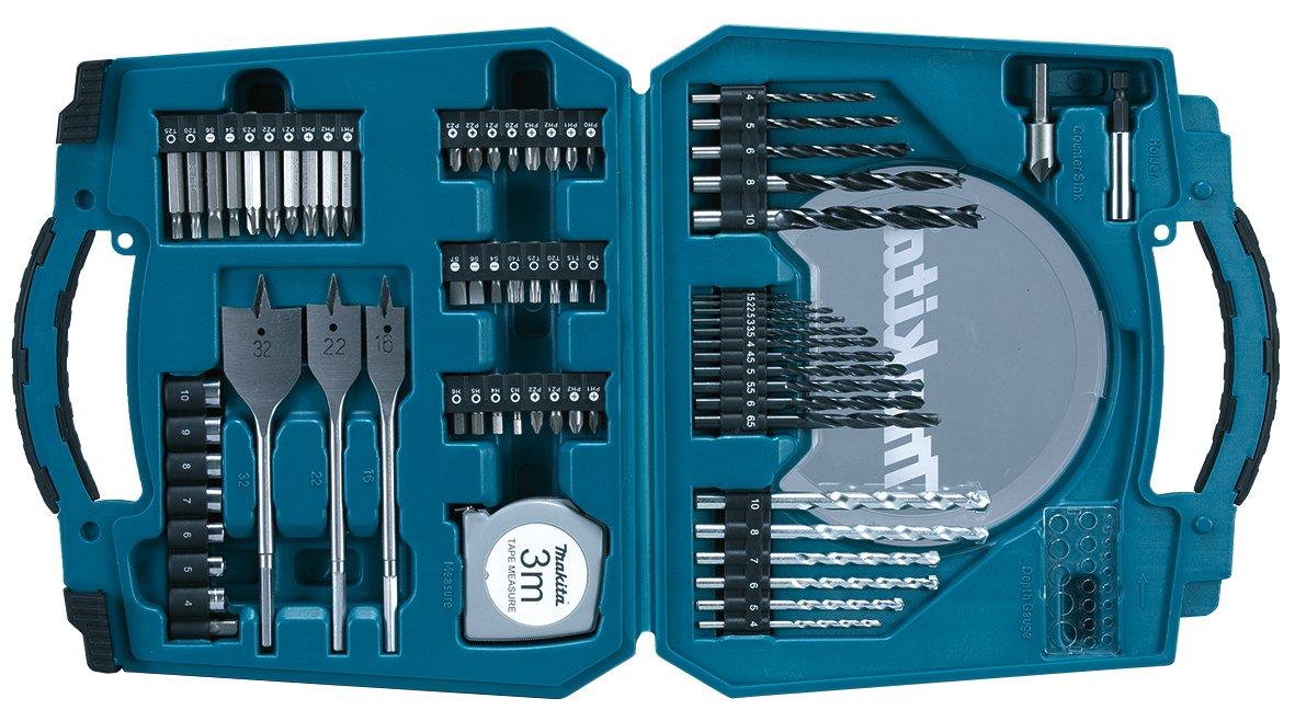 Makita D-47145 - Caja con brocas (71 piezas): Amazon.es: Bricolaje y herramientas