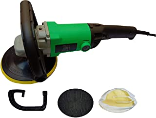 Inditrust 1200W 7 inch electric car polisher machine with 1 backing pad double insulated with speed control