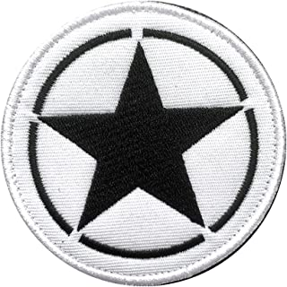 Antrix Tactical US Army Star Embroidered Military Emblem Patch, Hook & Loop USA Army Patch for Backpack Hat Jacket Jeans U...