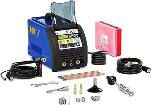 sazoley 86pcs Dent Puller Kit Outils de R/éparation de Carrosserie Outils de Soudage par Points Electrodes Spotter Soudeuse Machine Enlever Straightenging Dents Remover Dispositif pour Voitures
