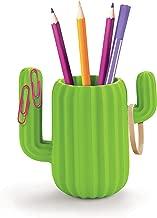 Mustard Pen Holder Desktop Organiser – Green Cactus