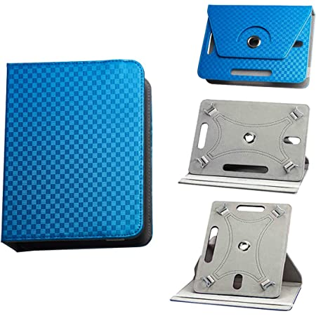 BEISK, Funda Universal para Tablet de 10-10.1 Pulgadas, con Sistema Giratorio de 360º, Rotación, Protección, con Soporte, para Huawei Mediapad/Samsung ...