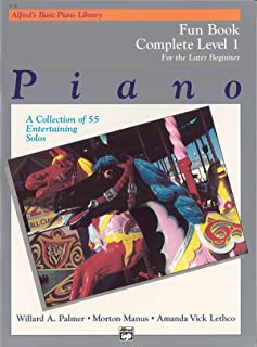Alfred's Basic Piano Library Fun Book Complete, Bk 1
