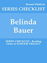Belinda Bauer - SERIES CHECKLIST - Reading Order of EXMOOR TRILOGY