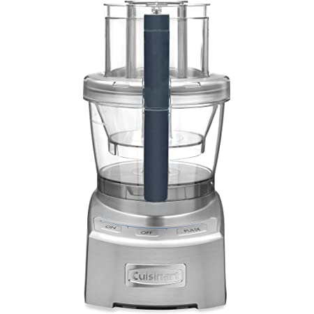 Cuisinart FP-12DCN Elite Collection 2.0 12-Cup Food Processor, Silver Die Cast