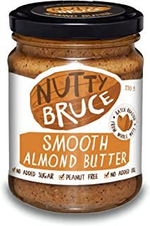 Nutty Bruce Smooth Almond Butter Spread - 250g
