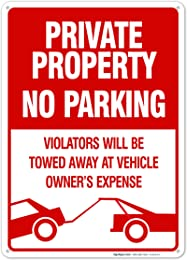 Best no parking signs for driveways