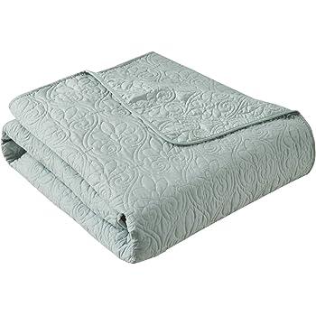 50 X 70 Inches Cream Family Pl Premium Quilted Velvet Plush Ultra Soft Sherpa Throw Blanket CMQVSHCJBL