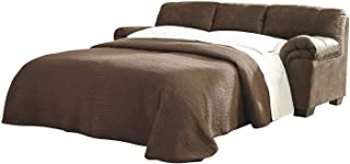 Signature Design by Ashley - Bladen Full Size Contemporary Plush Upholstered Sleeper Sofa, Coffee Brown
