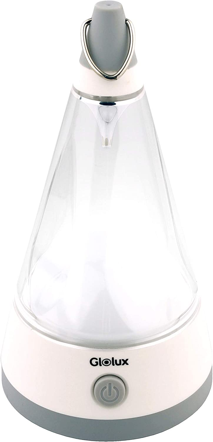 Glolux Battery Operated Factory outlet Camping Lantern Light Charlotte Mall Tap Night LED Flas