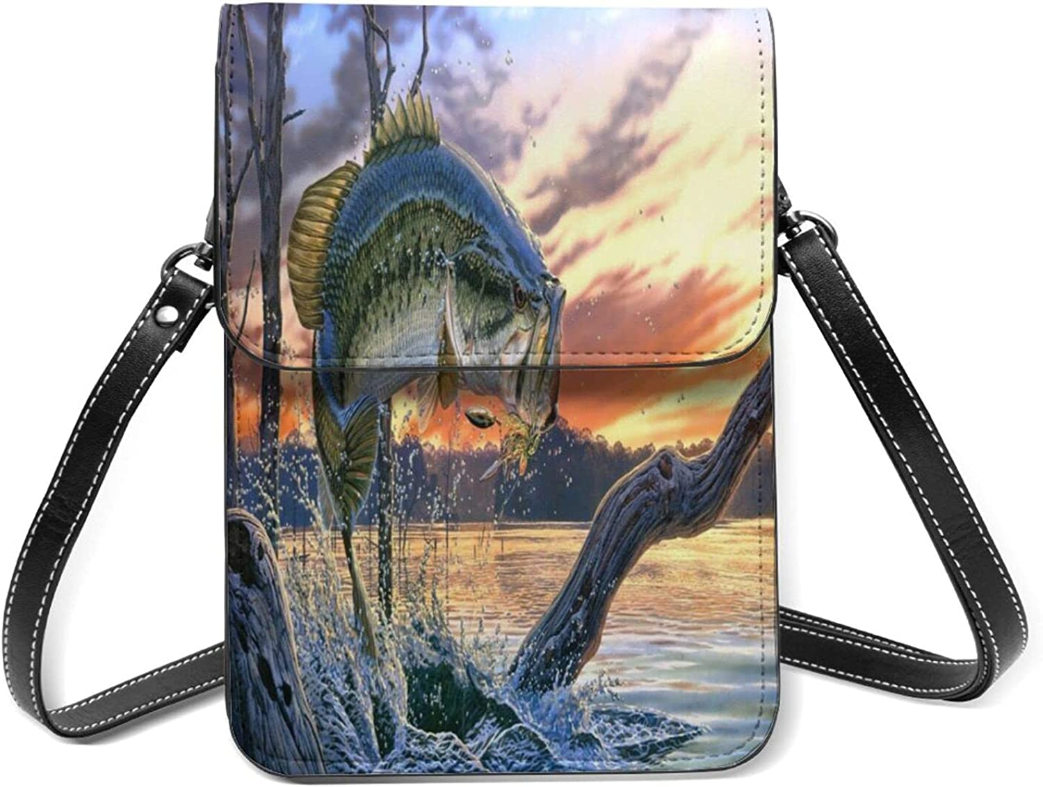Fishing Small Cell Phone Purse Many popular brands Shoulder Lightweight Flip St With SALENEW very popular