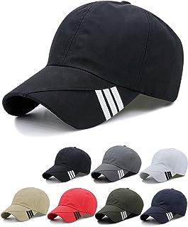 Hongtellor Baseball Caps Unisex Adjustable Quick Dry Sports Cap Sun Hat