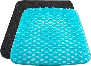 Kaigital Gel Seat Cushion 2020 The Latest Honeycomb Design Cushion Seat Cushion with Non-Slip Cover Super Breathable Gel C...