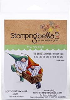 Stamping Bella EB784 Cling Stamps-Adventure Gnomes