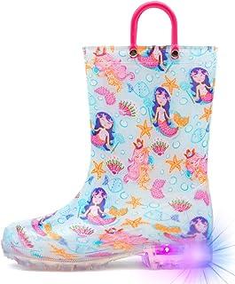 Light Up Rain Boots for Little Kids