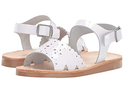 Freshly Picked Laguna Sandal (Infant/Toddler/Little Kid) (White Patent) Kid