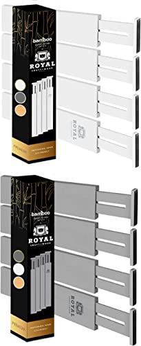 wholesale Drawer popular Dividers discount 17IN White and Gray colors online sale