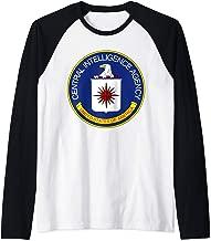 ROCKSTAR USA Collection - Central Intelligence Agency - CIA  Raglan Baseball Tee