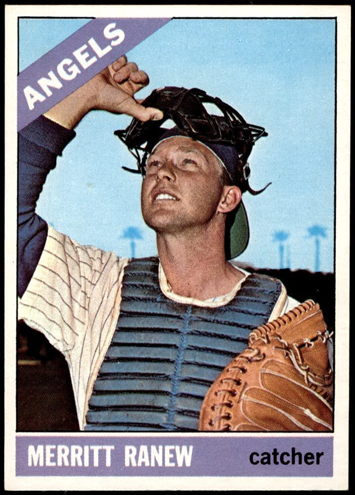1966 Topps # Sale Special Now on sale Price 62 SLD Merritt Angels Los C Ranew Baseball Angeles