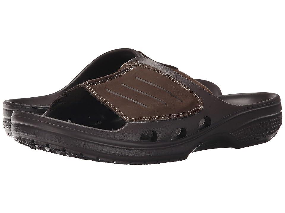 Crocs Yukon Mesa Slide (Espresso/Espresso) Men