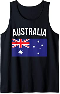Australia Tank Top Australian Flag Souvenir Australia Flag Tank Top