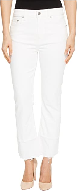 Bridgette Mini Boot Jeans in Clean White