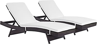 Amazon.com: OCHI - Silla reclinable para patio, estilo S, de ...
