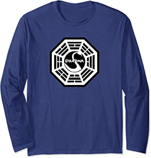 Lost The Swan Logo Long Sleeve Shirt