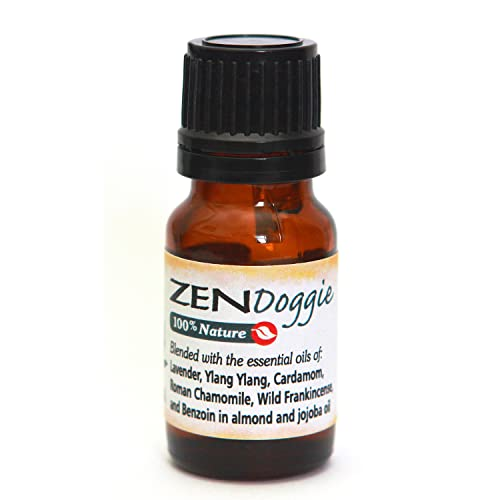 Zen Doggie - an Aromatic Canine Calming Blend of Pure Essential Oils