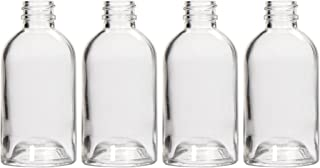 Hosley's Diffuser Boston Round Glass Diffuser Bottles 85ml LARGE Boston Round style. Great for storing Essential Oils