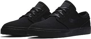 SB Zoom Stefan Janoski Canvas Men's Shoes - 615957 (10 D(M) US, Black/Black-Anthracite)