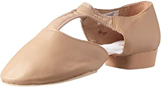 Bloch Dance Women's Elastospllit Grecian Dance Shoe, tan, 8.5 Medium US