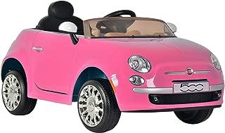 Kid Motorz 6V Fiat 500 Ride On, Pink