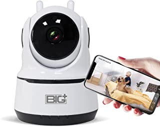 WiFi Full HD 2.0MP Pet Camera with Night Vision, 2-Way Audio, Motion Detection, Pan/Tilt, Smart IP Home Camera, Multiuse f...