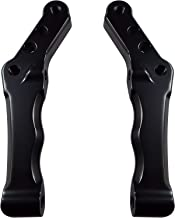 Bagger Brothers BB-RBCM-2K Black Radial Caliper Mount (for Harley Davidson Models with Dual Disk/Fits 1996 - 2013 Touring / Dyna /Softail )