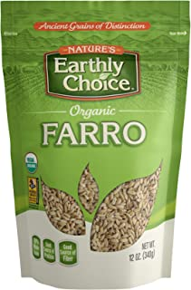 Nature's Earthly Choice Organic Farro, 14 Ounces (Pack of 6)