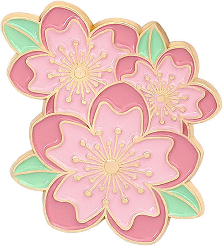 HaHawaii Pins for Backpacks Cartoon Brooch Backp Blossom Save money Cherry Fees free!!