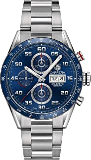 Carrera Calibre 16 Automatic Chronograph Blue Dial Men's Watch CV2A1V.BA0738