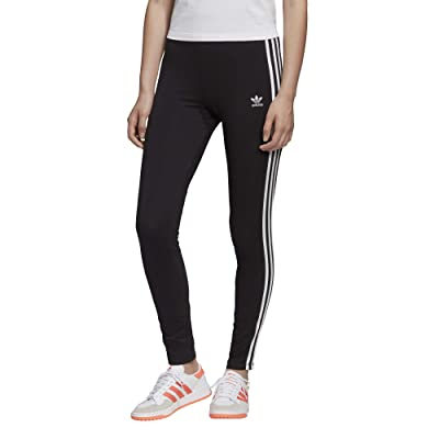 adidas Originals 3-Stripes Tights (Black/White) Women