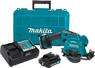 """Makita SH02R1 12V حداکثر CXT لیتیوم یون بی سیم دیسک اره، 3-3 / 8 """""""