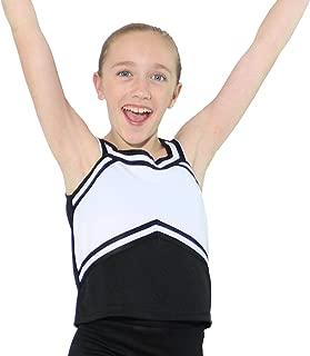 Girls Sweetheart Cheerleaders Uniform Shell Top