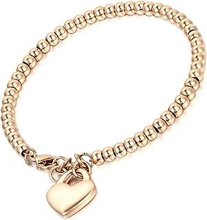 Armband 2-reihig weiße Süßwasser-Perlen dehnbar 925 Silber 17cm Perlenarmband
