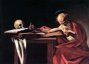 Gifts Delight Laminated 16x12 Poster: Michelangelo Merisi da Caravaggio, 1571 1610 Saint Jerome Writing Oil on Canvas, c. 1605
