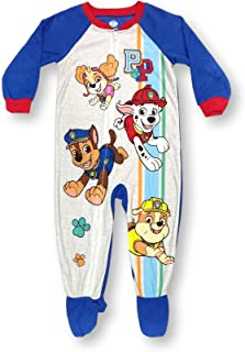 Paw Patrol Pajamas for Toddlers Blanket Sleeper Pup Squad Footed PJs