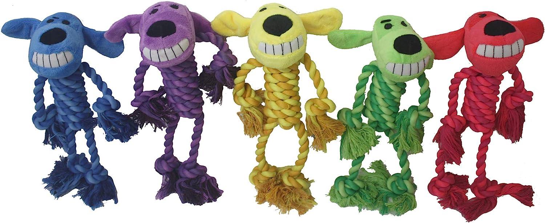 Multipet Rope Body Loofa Dog Toy 11