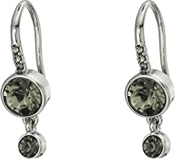 Double Drop Stone Earrings